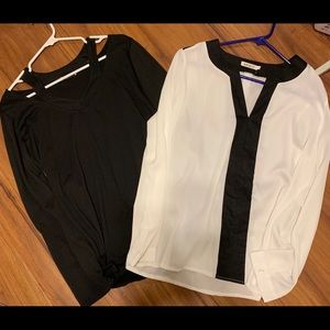 Tops - 2-long sleeve blouses